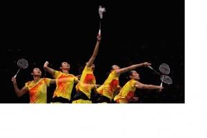 Badminton slow motion s